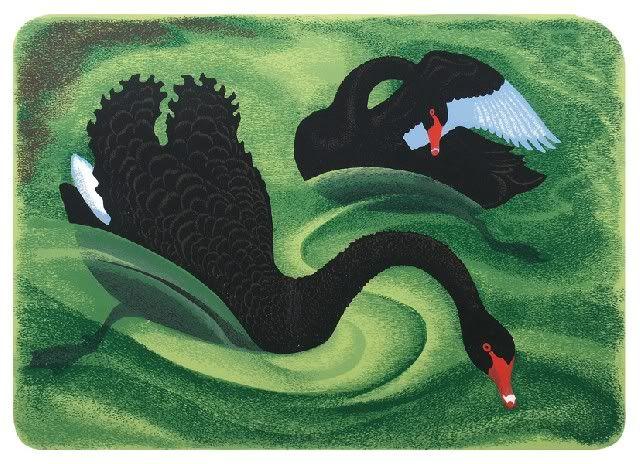 Animalarium: Eileen Mayo, linocut