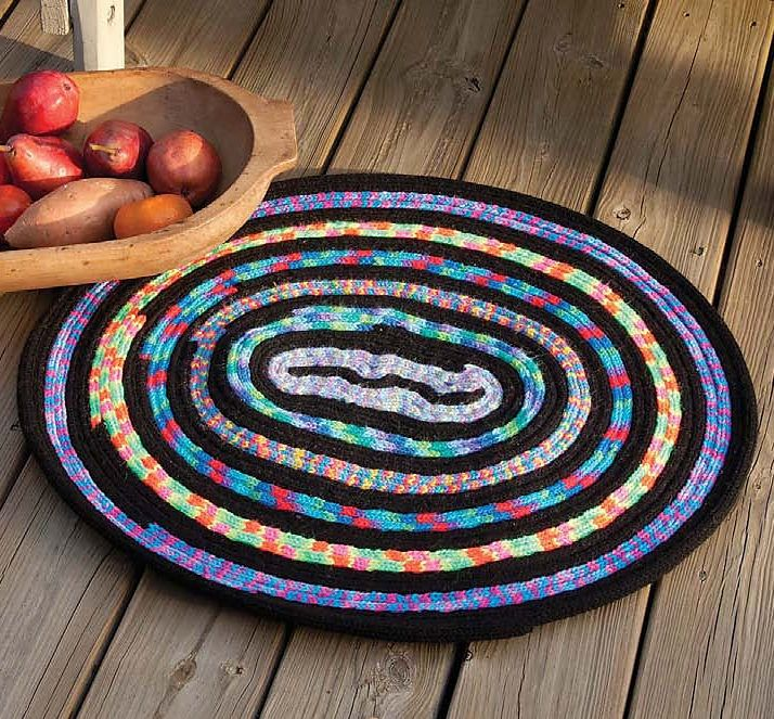 French Knitting Rug : Best images about home decor knitting patterns on