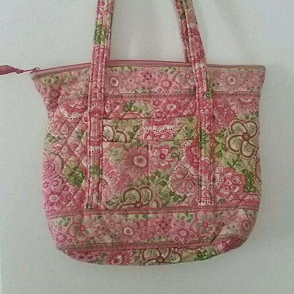 Petal Pink Tote Beautiful bag in my favorite Vera pattern. The ...