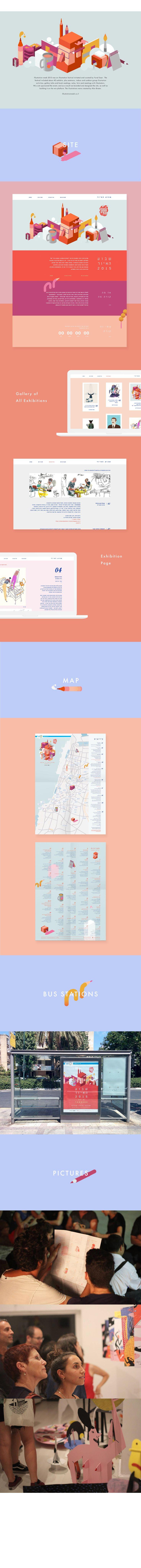 Illustration Week 2015 | Website