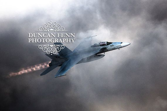 """F/A-18F Super Hornet """"Rhino"""" from 6SQN, #A44-209, in a demonstration airfield attack at the Australian International Airshow, Avalon, 2013 