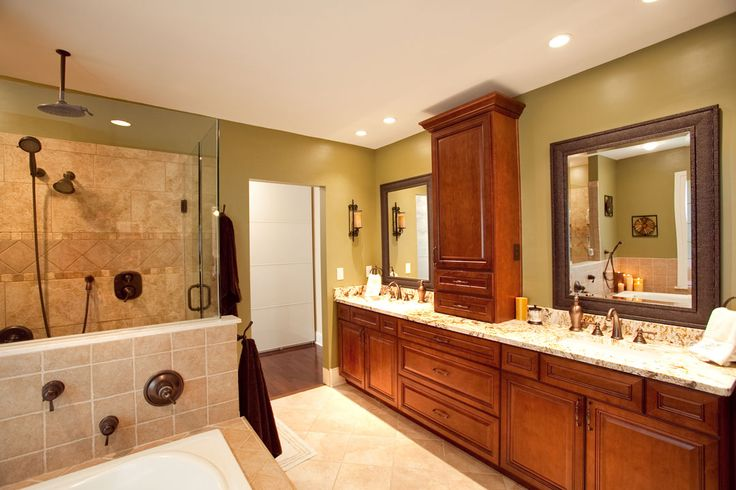 138 best images about bathroom ideas on pinterest for Updated master bathrooms