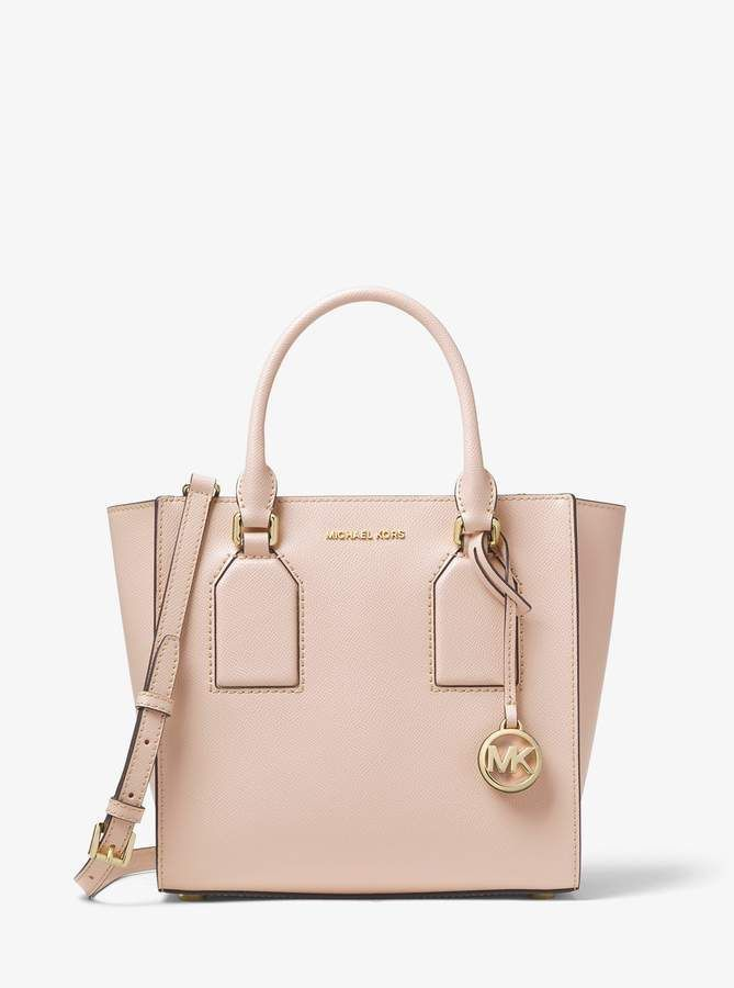 131c1d0b5f2c Michael Michael Kors Selby Medium Crossgrain Leather Satchel | Girls ...