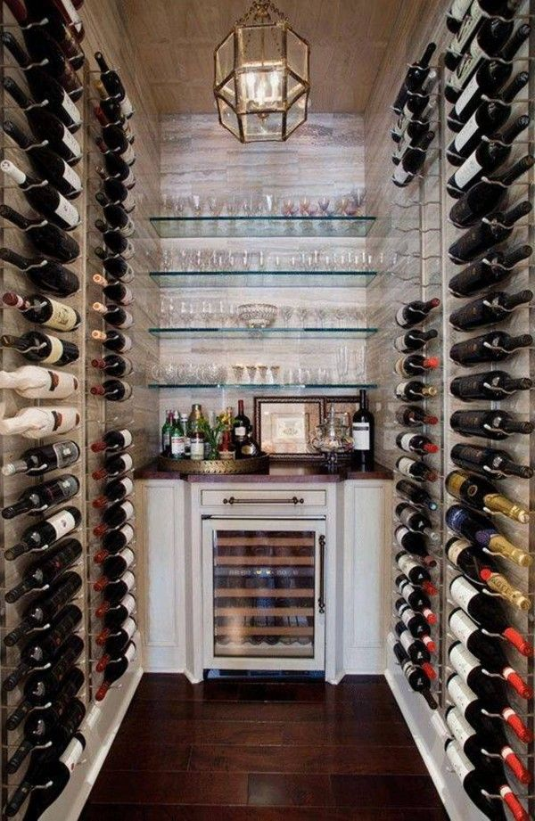 Building a wine cellar in the basement for the home - Montar una vinoteca ...