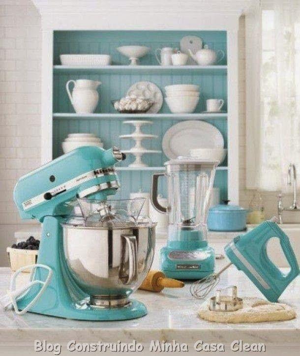 Construindo Minha Casa Clean: KitchenAid! A batedeira Multifuncional dos Sonhos!!!