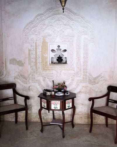 traditional stone house originally built by Arab traders. Baytil Ajaib is a beautiful boutique hotel in Lamu Town. Restored over the course of ten years using a secret mixture of lime and marble dust via ELLE DECOR