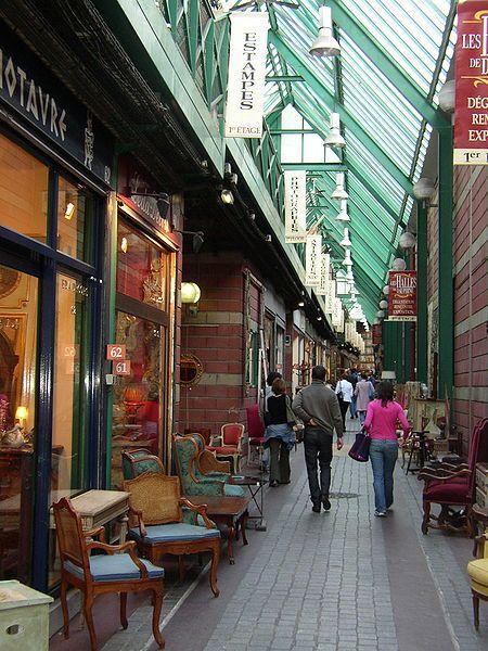 Marché Biron, Flea market Porte de Clignancourt, Saint-Ouen / Porte de Clignancourt Flea market