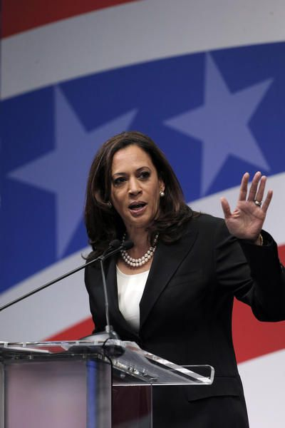 Kamala Harris in driver's seat at California's first U.S. Senate debate - LA Times