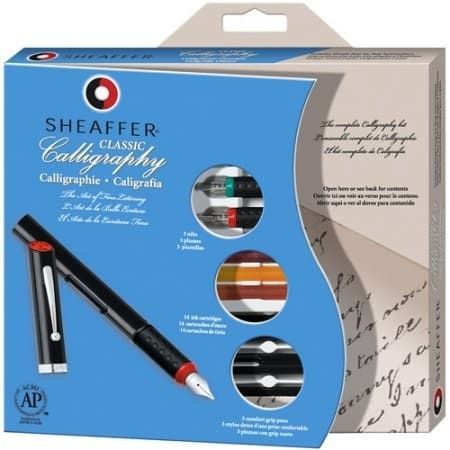 "Promising review: ""The pens and ink work great and I love the how-to book — it gives a lot of different kinds of calligraphy methods and the instructions are easy to follow."" —Patt1919Get it at Walmart for $22.50."