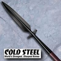 "Man-at-Arms Winged Spear is a true product of the battlefield. Its blade is wide and sharp enough to almost double as a pole arm, while its pronounced wings can be used to trap and pin an opponent's limbs, snag his shield and parry and entangle his weapons. (Overall: 89"" Blade Head Length: 24"" Wt: 82.1 oz)"