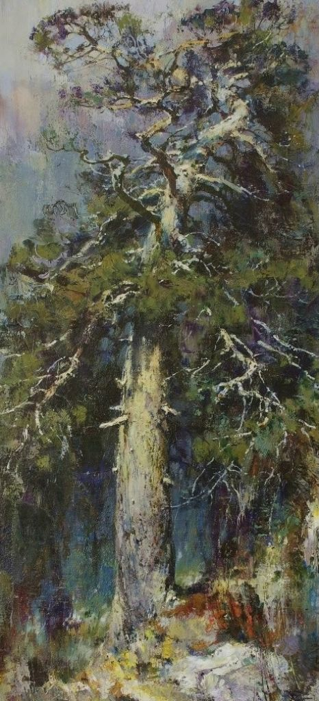 Russian Master: Vasendin Yury http://www.russianfineart.com/catalog/prod.php?productid=25123  Old Pine Tree - oil, canvas