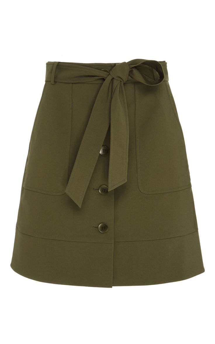 City Stretch Cargo Skirt by TIBI Now Available on Moda Operandi