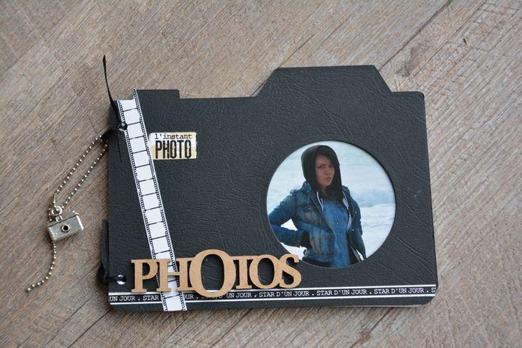 Album appareil photo - Le scrap de Marief