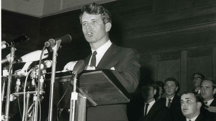 Speaking in Cape Town on Sunday, President Obama recalled what some say was Robert Kennedy's greatest speech — the senator's 1966 address at a South African university. Read that famous address and see video highlights.