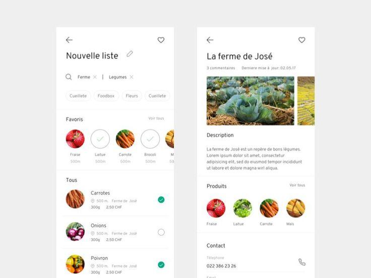 organic food delivery app - WIP