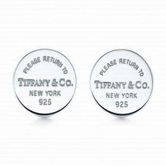 Return To Tiffany & Co Mini Round Tag Earrings