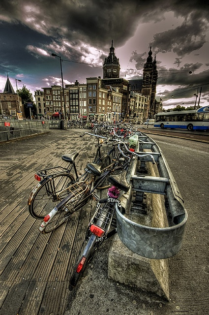 Very Amsterdam, Amesterdam, Holland - HDR