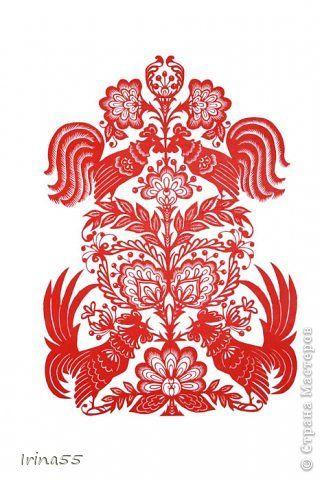 Картина панно рисунок Вырезание Снова вытынанки Бумага фото 5