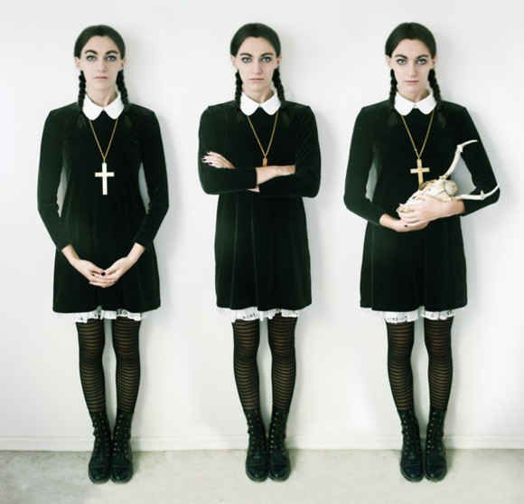 Wednesday Addams | 18 Fantastic Halloween Costume Ideas For '90s Girls