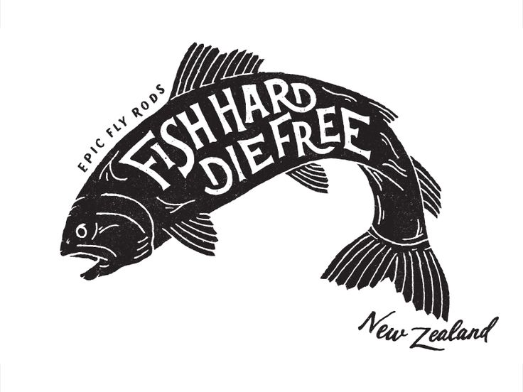 trendgraphy:  Fish Hard by Daniel CoullTwitter || Source