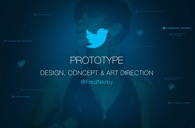 New Twitter Concept. A Digital Experience by Fred Nerby