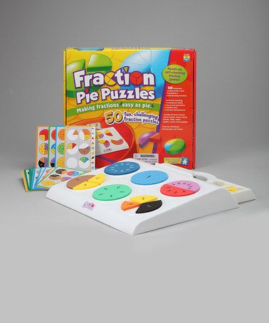 Take a look at this Fraction Pie Puzzles on zulily today!