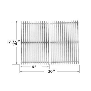 Grillpartszone- Grill Parts Store Canada - Get BBQ Parts,Grill Parts Canada: Broil Chef Cooking Grid | Replacement 2 Pack Stain...