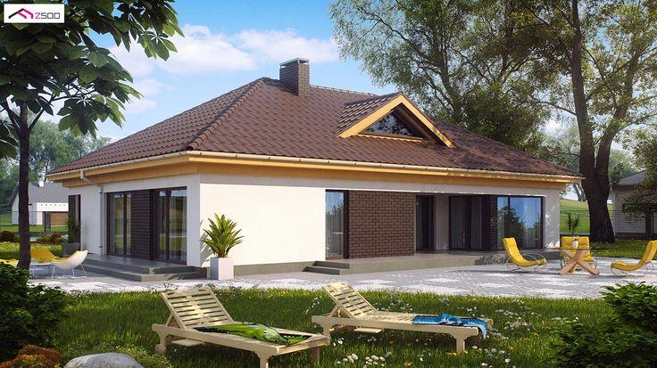 Z144 to wyjątkowy dom z kategorii projekty domów parterowych