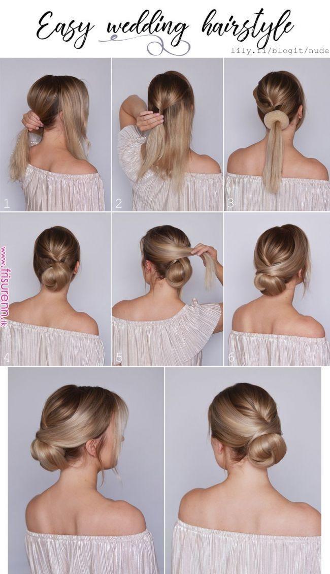 Schöne Frisur für eine Hochzeit ♥
