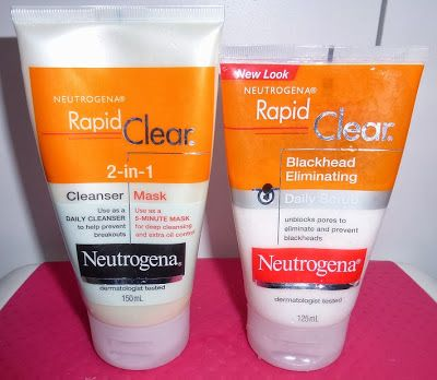Worth a try! http://www.danniibeauty.blogspot.com.au/2013/11/neutrogena-rapid-clear-cleanser-mask.html