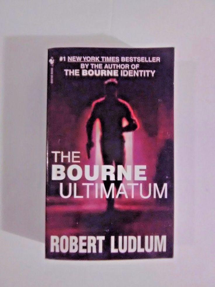The Bourne Ultimatum: Jason Bourne Book by Robert Ludlum #3 GREAT Condition