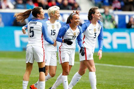 In Fight for Equality U.S. Womens Soccer Team Leads the Way
