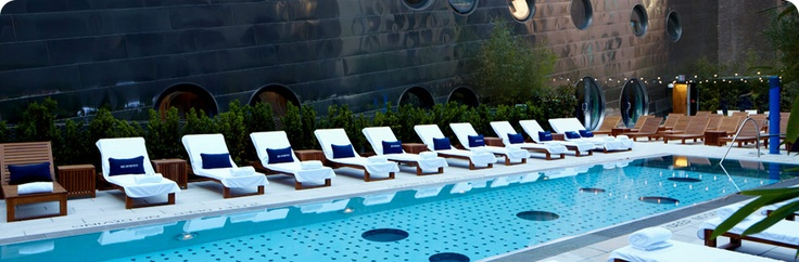 Dream Beach At The Downtown Hotel Nyc Pool Relax Www