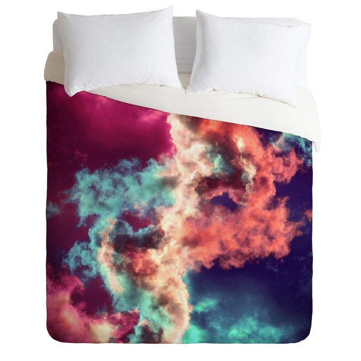 Caleb Troy Yin Yang Painted Clouds Duvet Cover Pinterest