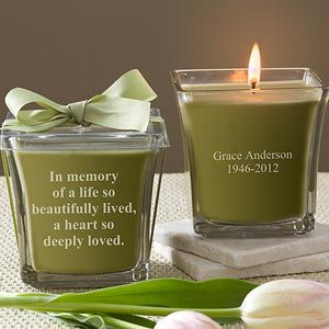 how to make memorial candles