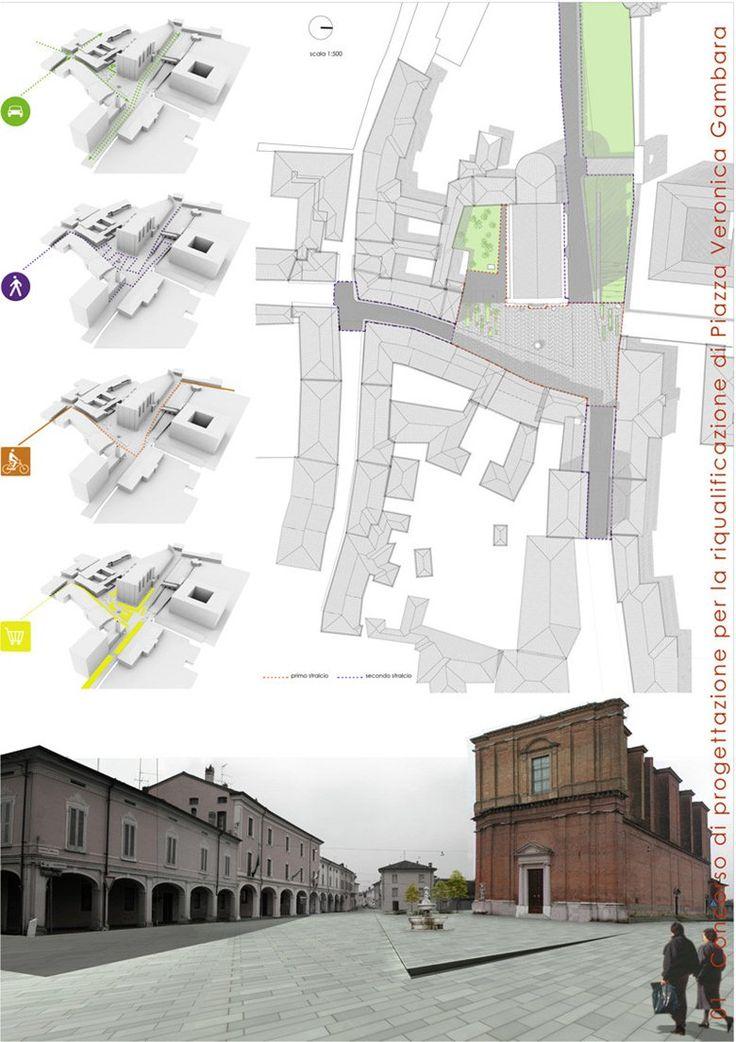 Riqualificazione di Piazza Veronica Gambara e degli spazi pubblici circostanti, Pralboino, 2008 - Ignazio Marchetti, Anna Donati, Federica Mometto, Michela Cibaldi