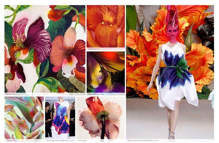rints fashion frend direction for Spring Summer 2015 FLOWER PRINTS----- Tendenza stampe pattern moda collezioni Primavera Estate 2015