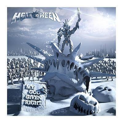 """L'album degli #Helloween intitolato """"My God-Given Right"""" su doppio vinile."""