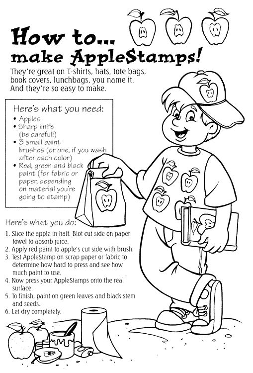 Making Applesauce Worksheets : Best johnny appleseed september images on