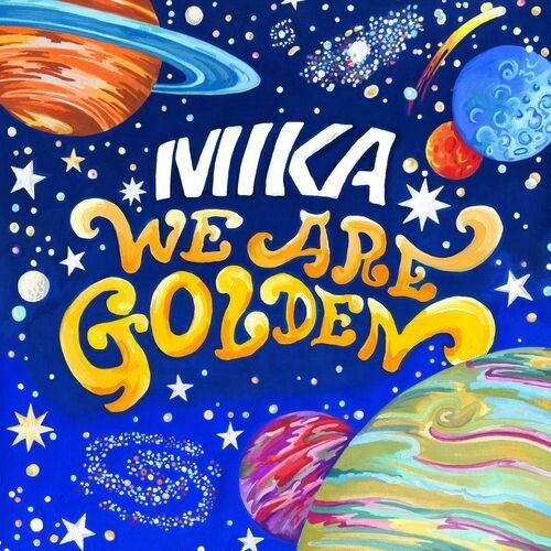 Mika We Are Golden - the album art before Mika changed the name to The Boy Who Knew Too Much