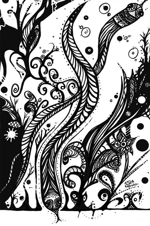 Wanderlust - Eels, by Aspa Chroneou