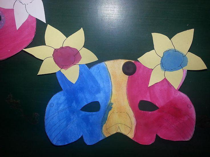 masky na karneval 2016