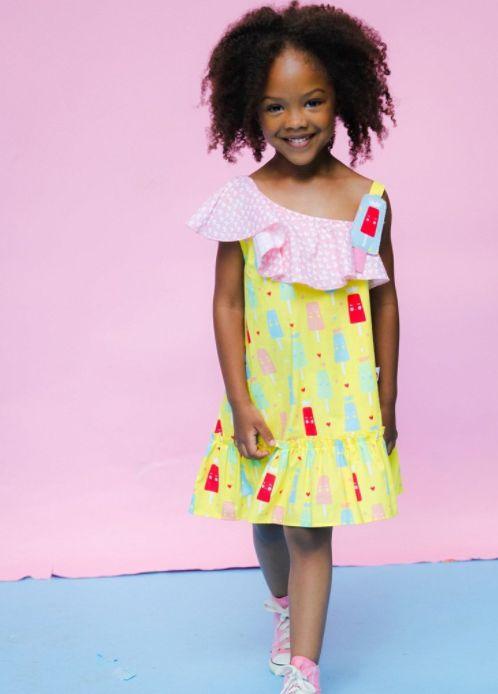 Popsicle Banana Split Princess ice cream Dress