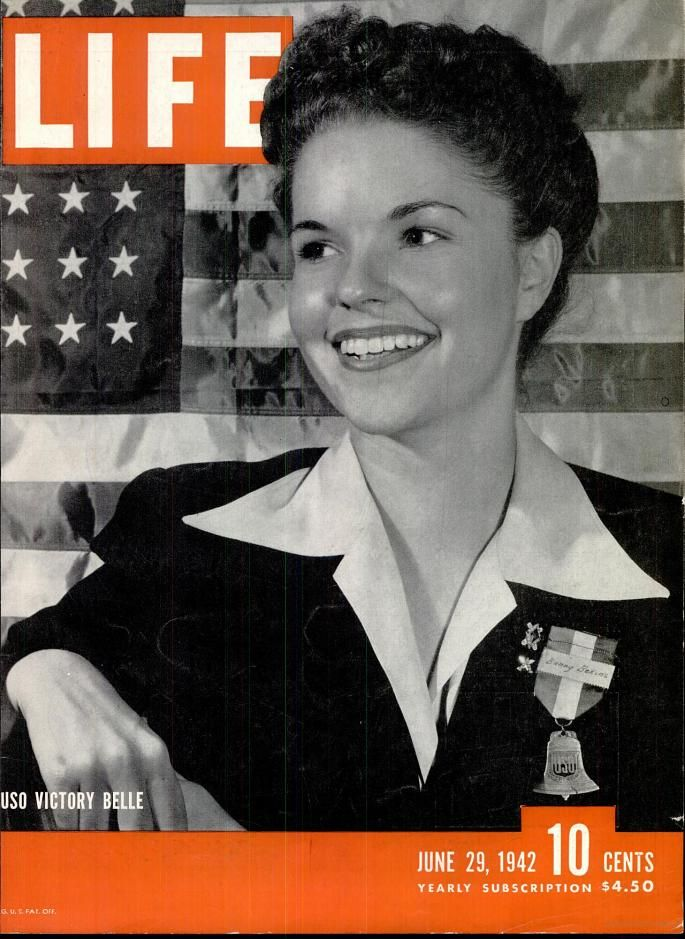 "LIFE Magazine June 29, 1942 - article, ""USO In Peace and War It Has Proven Its Worth"", pages 70-79. 