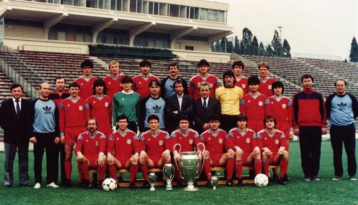 Steaua Bucuresti - 1986