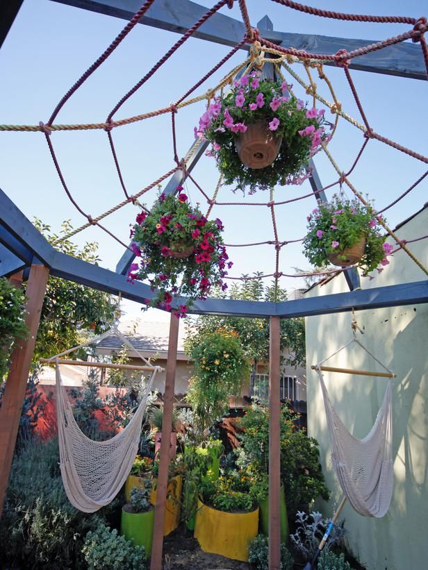 Design Tips for Beautiful Pergolas : Home Improvement : DIY Network  Never thought of this