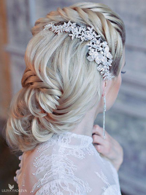 fishtail braid wedding - photo #21