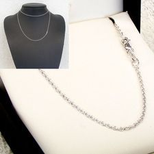 Sterling Silver Cable Chain - MM-CAB-0001