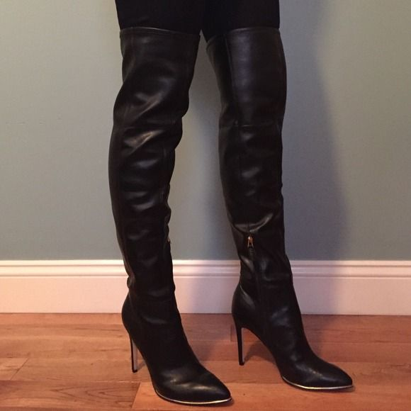 OTK Thigh High Guess Boots | High Heels | over the knee ...