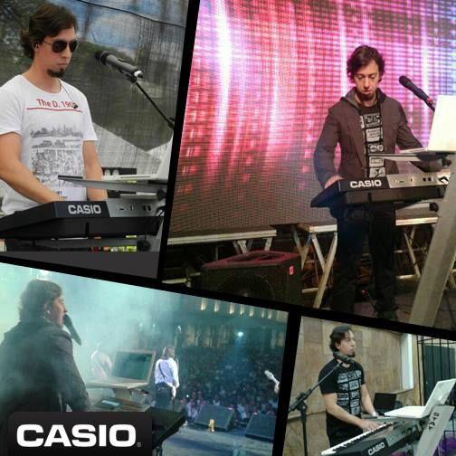 Angelo Garcia é mais um músico do time da #Casio!   Atualmente trabalha com o cantor Cantor PG - Oficial (Ex Oficina G3) que possui 5 CDs e 2 DVDs.
